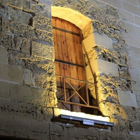 Door in Front of Tower