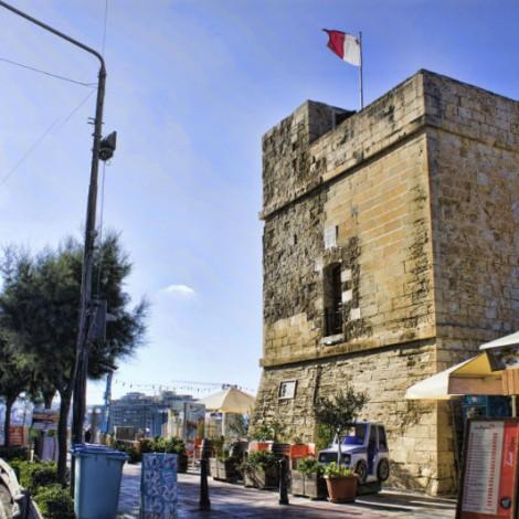 Maltese Flag on Top